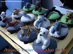 HONEY CAKES: Animal Kaiser Cupcakes for Opie