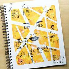 Art Sketchbook Layout Ideas Sketch Books 45 Trendy Ideas - Photography, Landscape photography, Photography tips Art Journal Pages, Art Journal Challenge, Art Journal Prompts, Art Journal Techniques, Art Pages, Art Journaling, Journal Ideas, Journals, Art Journal Covers