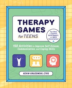 TRRT Updates & Recreation Therapy Book Announcement - The Real Recreation Therapist Therapy Games, Free Therapy, Therapy Activities, Physical Activities, Activities For Teens, Games For Teens, Books For Teens, Psychology Books, Behavioral Therapy