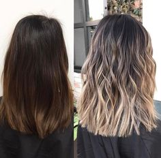 Pin by Halle Fisher on Balayage in 2019 Brown Hair Balayage, Hair Color Balayage, Hair Highlights, Hair Color Ideas For Brunettes Balayage, Blond Beige, Blonde Hair Looks, Brunette Hair, Pinterest Hair, Light Brown Hair