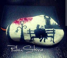 #paintedstone #taşboyama #puhustone #rockpainting#color #awsome #nice #taş #boyama