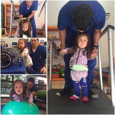 Ella es Marisol y viene al Centro Teletón en Paraguarí con su mamá Nelida.  Mientras Marisol realiza sus ejercicios su mamá nos comenta que a ella le gusta mucho hacer muecas frente al espejo y jugar con las burbujas.
