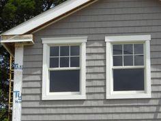 Exterior window trim