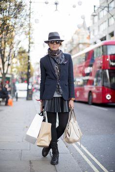 December street style - real-life fashion inspiration (Vogue.com UK)