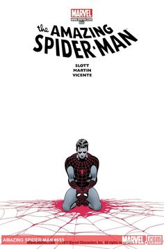 simple but intense cover AMAZING SPIDER-MAN (1999) #655