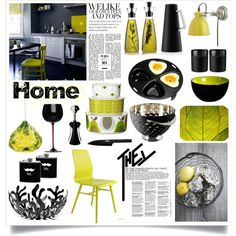 """""""Lime and black"""" by kristina-krizanec on Polyvore"""