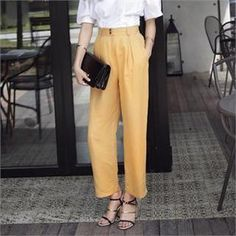 Buy 'midnightCOCO – Wide Leg Pants' with Free Shipping at YesStyle.co.uk. Browse and shop for thousands of Asian fashion items from South Korea and more!