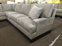 """""""Janna"""" Sofa/Sofa Sectional - Every style can be customized in virtually any way possible!  www.MonarchSofas.com More custom pieces on our Houzz profile! http://www.houzz.com/pro/thesofaworks/monarch-sofas"""