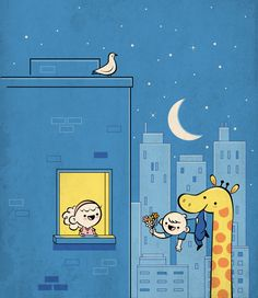 super cute illustrations by skinny andy | abduzeedo | graphic design inspiration and photoshop tutorials