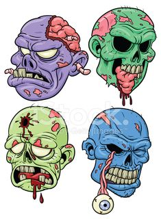 Cartoon Zombies stock photos - FreeImages.com