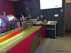 For the design and renovation of residential and commercial spaces and the staging of sets and events in Montreal and its suburbs. Central Kitchen, Commercial Design, Bar, Service, Juice, Interior Design, Modern, Nest Design, Home Interior Design