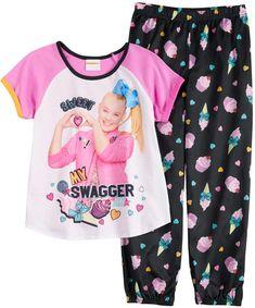 Fancy Nancy Tracksuit Kids Children PJs Pyjamas Set Outfit Clothes Nightwear UK