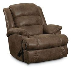 VIVA HOME Faux Leather PU Ergonomic Recliner Sofa 3 Seater Brown