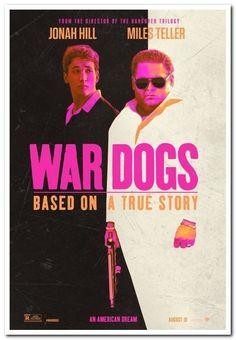 WAR DOGS - 2016 - original 27x40 Advance Movie Poster - JONAH HILL, MILES TELLER