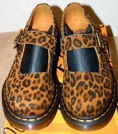 DOC MARTENS LEOPARD PRINT..I would so have these
