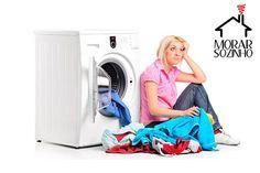 Como lavar roupa na máquina de lavar?