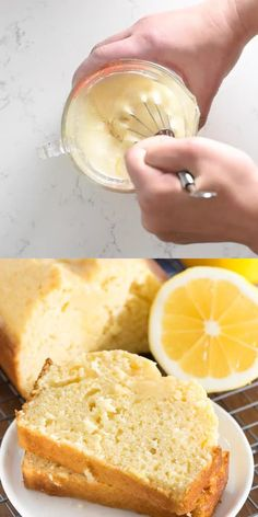 Lemon Quick Bread - this easy quick bread recipe is bursting with lemon flavor. It's great for dessert or breakfast - with or without a lemon glaze! easy 3 ingredients easy for a crowd easy healthy easy party easy quick easy simple Summer Dessert Recipes, Dessert Cake Recipes, Easy No Bake Desserts, Lemon Desserts, Lemon Recipes, Healthy Dessert Recipes, Dessert Bread, Cookie Recipes, Dinner Recipes