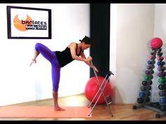 Barre Legs Workout - Lower Body Barre Fire BARLATES BODY BLITZ - YouTube