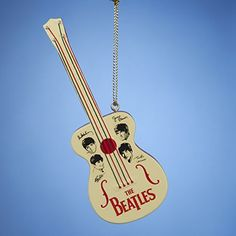 "3.5"" Iconic Beatles Retro Toy Guitar Christmas Ornament *** Click on the image for additional details."