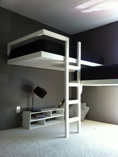 Lloyd Loft Beds by designfabpdx on Etsy, $1500.00