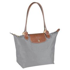 Le Pliage Longchamp Tote Grey