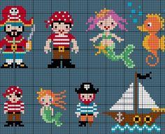 Itty Bitty Pirates and Mermaids