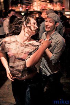 Salsa Dancing at Impala in San Francisco