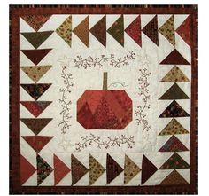 Fall In Maine Quilt Pattern LMQ-101 (Wall Hanging)