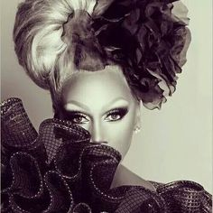RuPaul - One of the gorgeous images I've ever seen in my life.