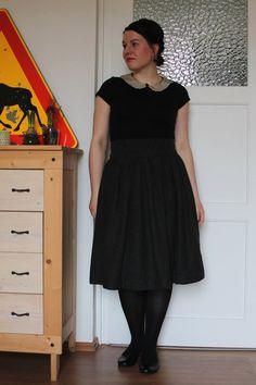 skirt and collar