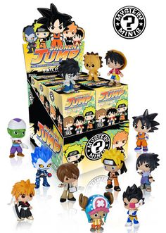 Some well-known faces, Anime. While Funko's Best of Anime Series 1 Mystery Minis looked pretty good, I have to confess that I was a little disappointed that the shows rep...