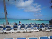 Relaxing on Great Stirrup Cay Island makes all your problems disappear!