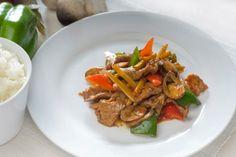 Aziatische roerbakreepjes met paddenstoelen - http://www.gezondheidsnet.nl/wat-eten-we-vandaag/recepten/11979/aziatische-roerbakreepjes-met-paddenstoelen #recept