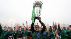 Fiona Coghlan, Captain of the Ireland (Grand Slam winning!) Womens Rugby Team
