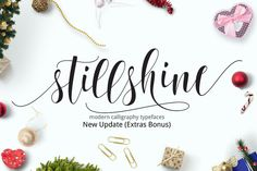 Still Shine script by joelmaker on Creative Market