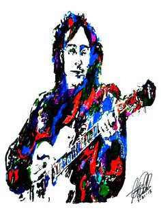 John Lennon of The Beatles POSTER from Original Drawing by thesent, $14.99