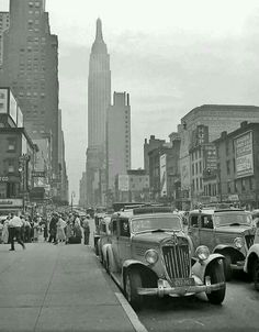New York city in early 20s