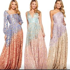 Metallic gold⚡️What's your style? Sherri Hill Prom Dresses, Your Style, Formal Dresses, Vintage, Metallic Gold, Fashion, Dresses For Formal, Moda, Formal Gowns