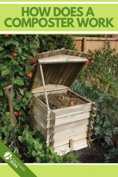 The English Garden 67 Gal. Wood Beehive Style Composter is a beautiful addition to any garden or yard and is designed to compost your kitchen and yard waste. It has a easy to open lid for quick access