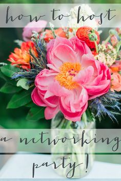 how to host a networking party - DIY Event Professional Networking, Business Networking, Networking Events, Event Planning Tips, Party Planning, Event Ideas, Business Events, Corporate Events, Catering Business
