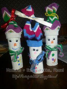 "I added ""Manicures and Extra Sprinkles: Toilet Paper Snowme"" to an #inlinkz linkup!http://lovinjosiah87.blogspot.com/2013/12/toilet-paper-snowmen.html"