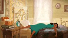 The perfect Tired Bed Tiana Animated GIF for your conversation. Discover and Share the best GIFs on Tenor. Walt Disney, Disney Magic, Dormir Gif, Humor Satirico, Princesa Tiana, Morning Gif, Morning Person, Animation Background, Getting Out Of Bed