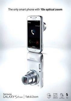 Samsung Galaxy Camera Phone Advertising #camera #phone #reflection