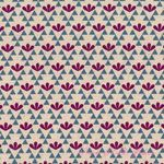 Ellen Luckett Baker Garden Triangles Blue [IMPORT-JG41700-3-B31] - $19.95 : Pink Chalk Fabrics is your online source for modern quilting cottons and sewing patterns., Cloth, Pattern + Tool for Modern Sewists