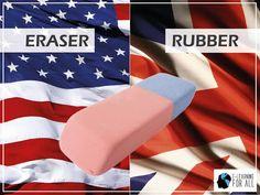 Diferenças entre o Inglês Americano e o Inglês Britânico