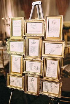 Color Theme: Luxury Gold Wedding Decorations ❤️ See more: http://www.weddingforward.com/gold-wedding-decorations/ #weddings