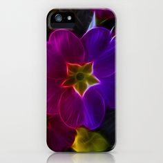 Primula Rainbow iPhone Case by Fiona & Paul Photography and Digital Art - $35.00