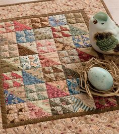 Civil War Legacies III: A Treasury of Quilts for Reproduction-Fabric Lovers (That Patchwork Place) Mini Quilts, Old Quilts, Scrappy Quilts, Small Quilts, Primitive Quilts, Quilts Vintage, Antique Quilts, Vintage Sewing, Small Quilt Projects