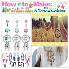 """""""How to Make: A Dream Catcher ♥"""" Cute Crafts, Diy Crafts, Indian Crafts, Love Craft, Needful Things, Art Club, Native American Art, Diy Organization, Diy Projects To Try"""