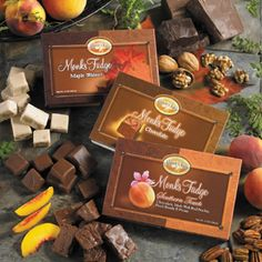 Monks Fudge ... heavenly! Try peach, pecans and cocoa
